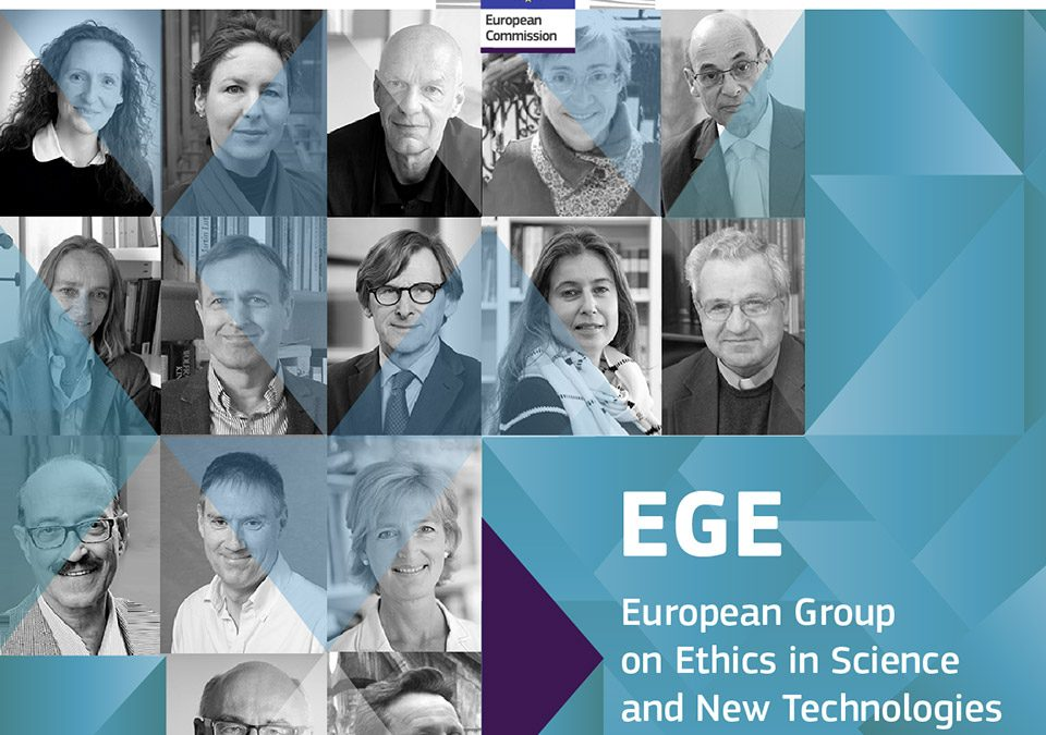 EGE has published a Statement on Ethics and the Covid-19 pandemic.